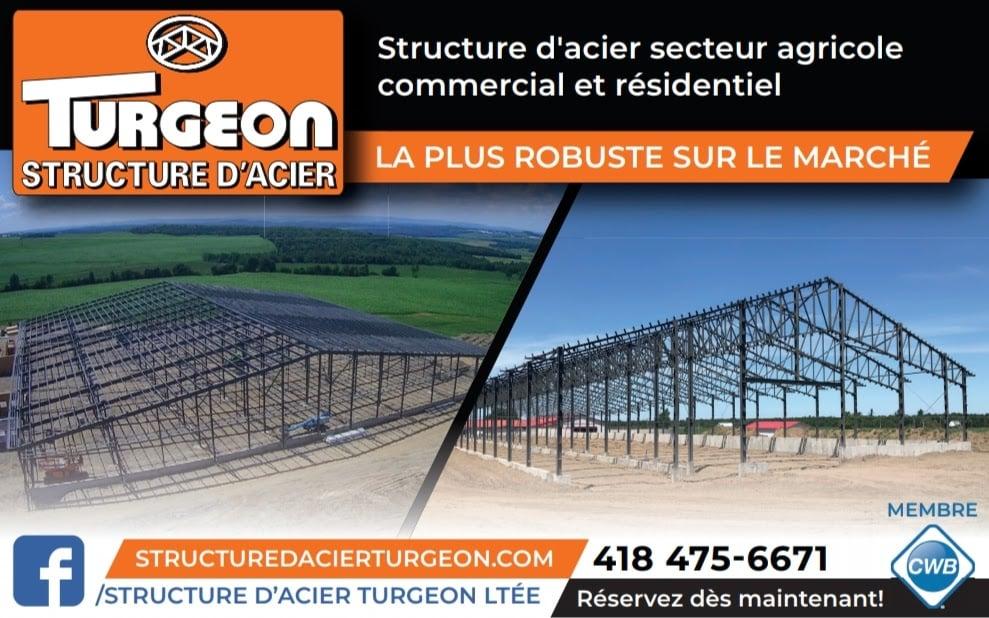 Structure d'acier Turgeon